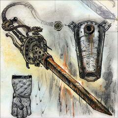 Shishkebab concept art by Adam Adamowicz