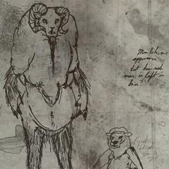 Sheepsquatch sketch