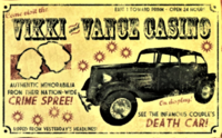 FNV Loading screen death car