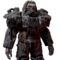 FO76 Atomic Shop - Black Rider power armor skin