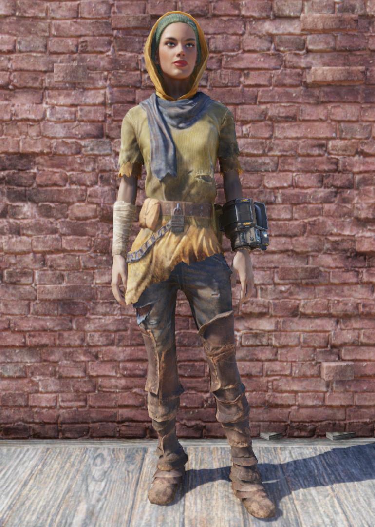 53fda3118ba Hooded rags (Fallout 76)