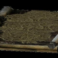 Лежак з травою