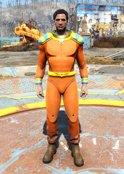 Captain Cosmos space suit