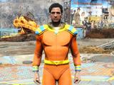 Captain Cosmos space suit