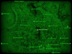 FO4 Дарк-Холлоу-Понд (карта мира)