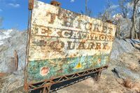 FO4 Thicket Excav sign