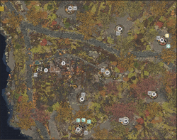 FO76 Guide map Black-Mountain-Ordnance-Works