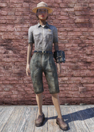 FO76 Ranger Outfit with Hat