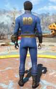 Fo4FH vault 118 jumpsuit male