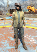 Fo4Minutemen Outfit female