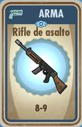 FOS Rifle de asalto carta