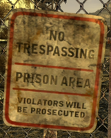FoNV No Trespassing