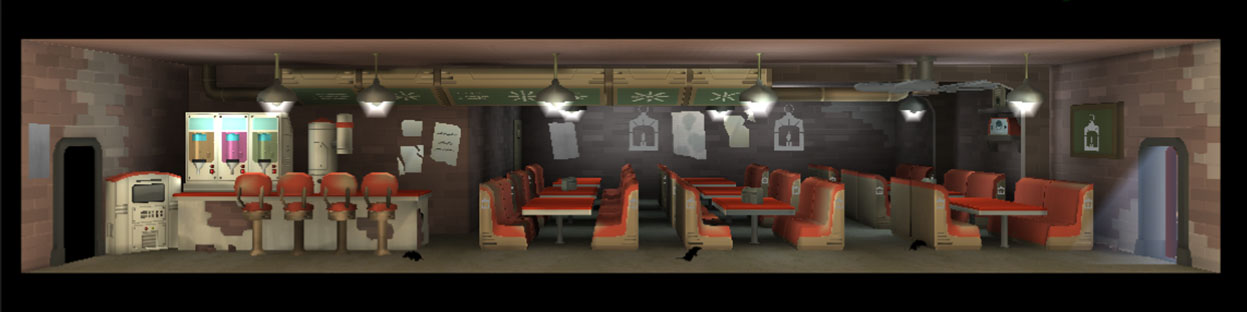 FoS Diner (Railroad theme)