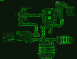 Vault 111 local map