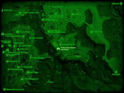 FO4 Руины бостонского аэропорта (карта мира)