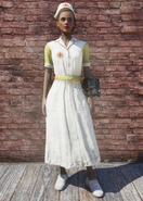 FO76 Asylum Worker Uniform Yellow