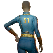 FO76 Atomic Shop - Vault 51 jumpsuit