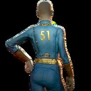FO76 Atomic Shop - Vault 51 jumpsuit