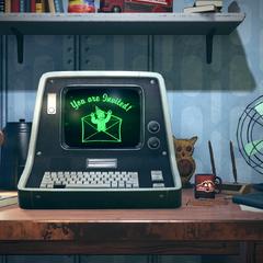 Працюючий комп'ютер