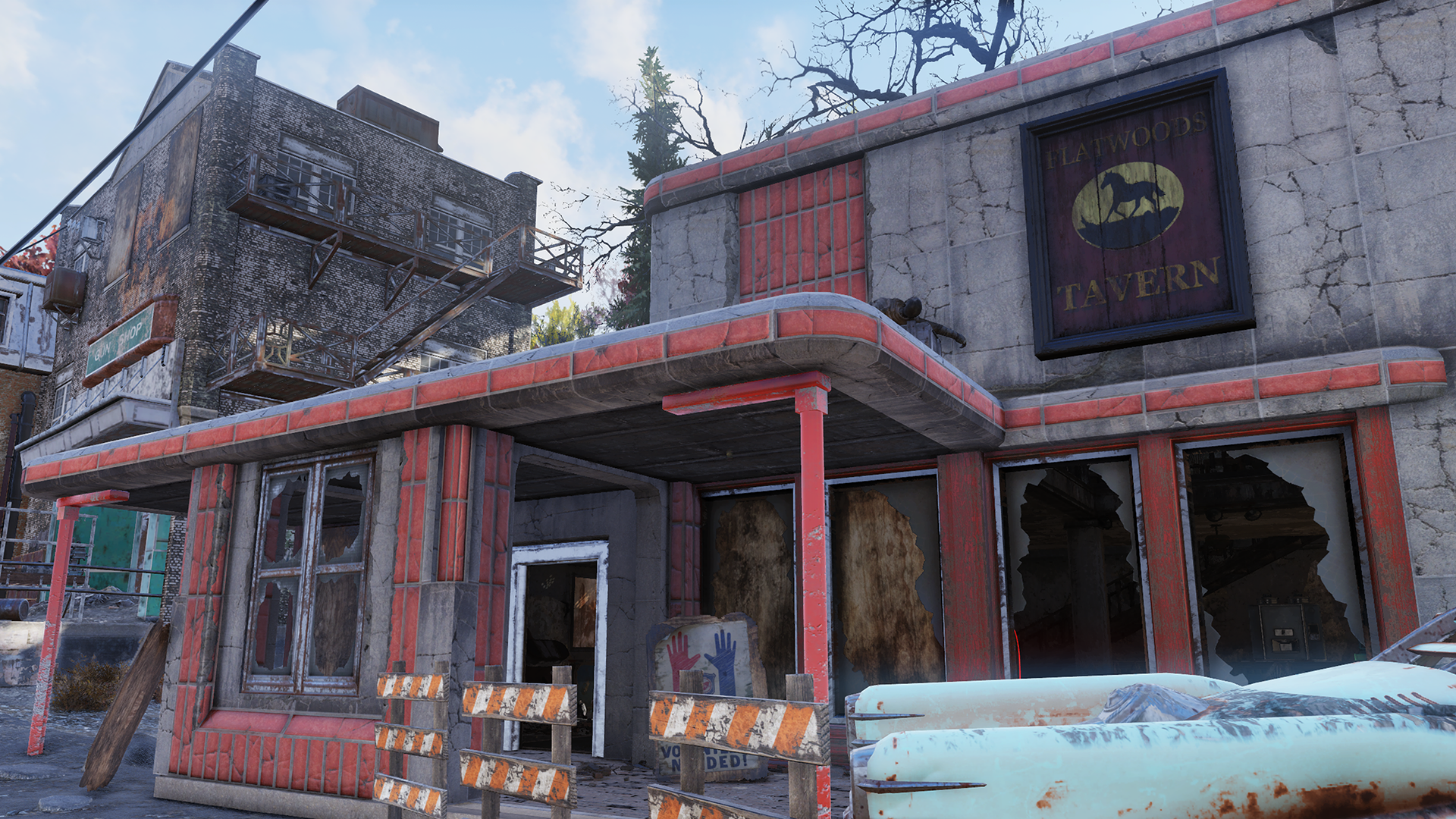 Flatwoods Tavern entrance