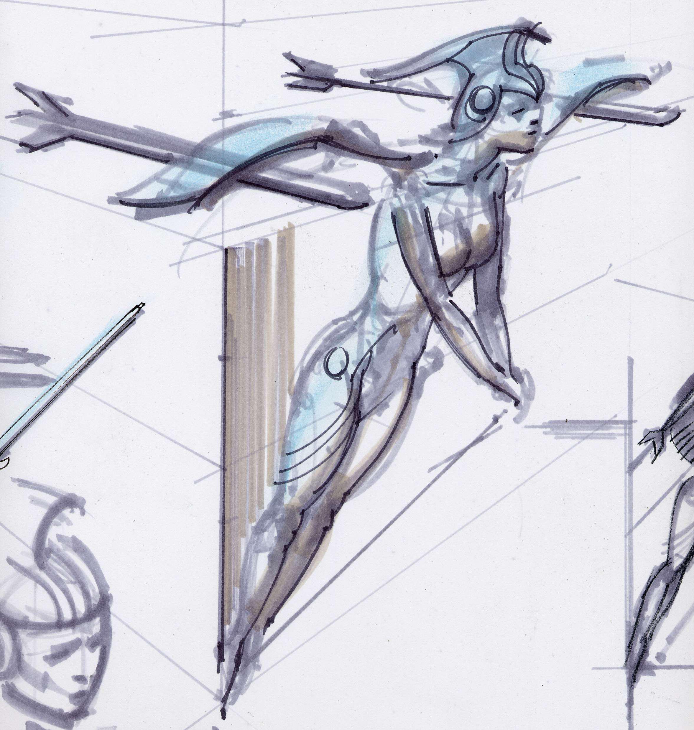 Fo3 Architectural Concept Art 06