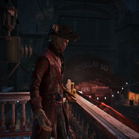 Джон Хенкок в офіційному відеоролику до виходу гри.