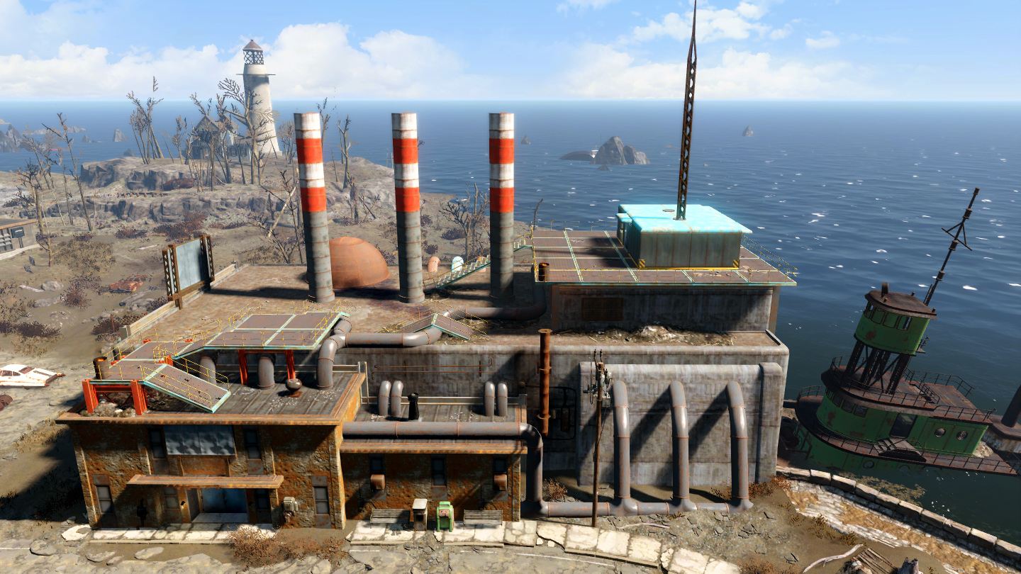Fallout4 secret and unmarked locations - YouTube