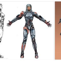 Metal Armor Concept Art (<a href=