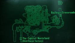 Metro Bailey's Crossroads Metro map