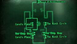 Carols Place loc map