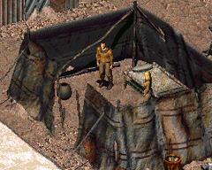 FO2 Joshua in a hut