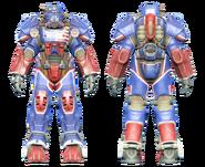 FO4CC T-60 power armor patriotic