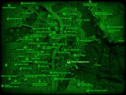 FO4 Отель «Харбормастер» (карта мира)