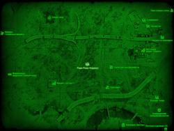 FO4 Парк Роки-Нэрроуз (карта мира)
