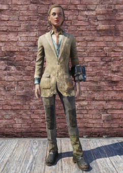 FO76 Patched Three Piece Suit