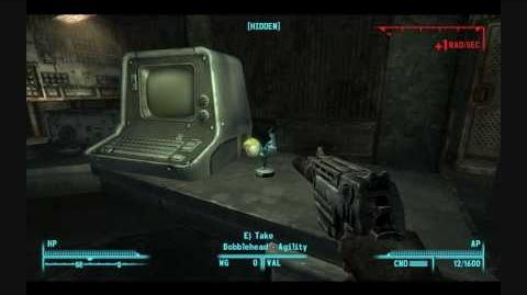 Fallout 3 Bobblehead -Agility-