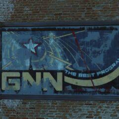 GNN sign in downtown Boston