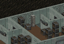 Red memory module locker