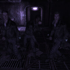 Галюцинація Тунельних змій під час бою з вижив Сховища 106