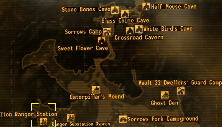 Zion Ranger Station Fallout Wiki Fandom