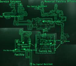 Anchorage Memorial Facility map