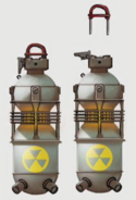 Art of Fallout 4 Nuka grenade