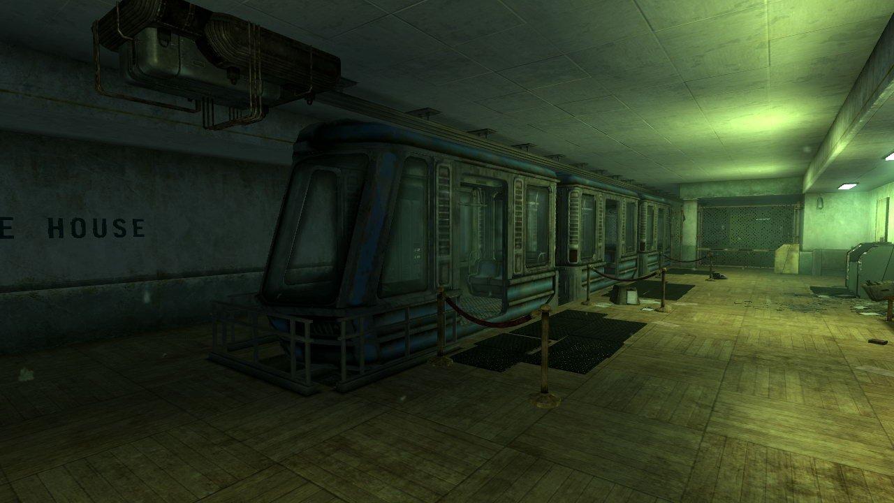 Broken Steel Presdential Metro Line