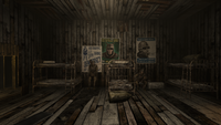 Camp FH barracks interior