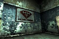 FNV HH Tools sign front lobby