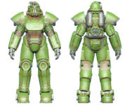 FO4CC T-51 power armor green