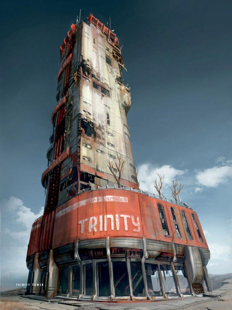 FO4 Trinity Tower Art Book
