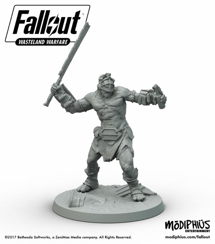 Fallout Wasteland Warfare mutant generic blade