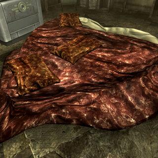 Ліжко в вітальні...