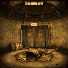 Вхід у бункер секьюрітронів
